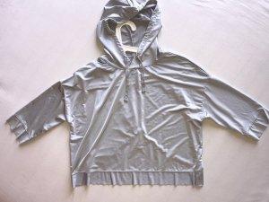 Zara Cropped shirt zilver