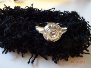 silberfarbiger Ring von Dyrberg/Kern