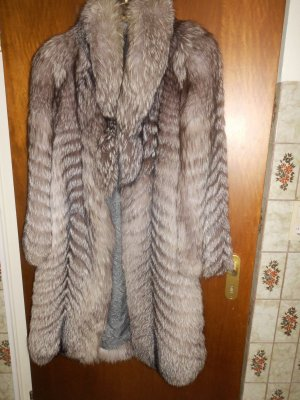 Pelt Coat grey brown pelt