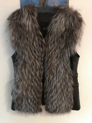Pelt Jacket black-dark grey pelt