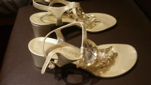 Casadei High Heel Sandal silver-colored-gold-colored