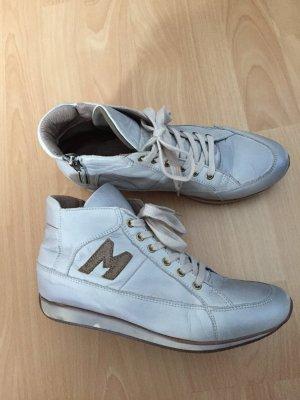 Sneaker grigio chiaro-argento