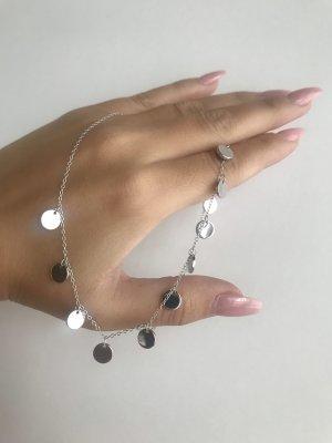 Catena d'argento argento