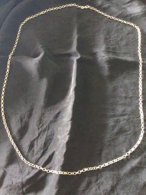 Silver Chain light grey real silver
