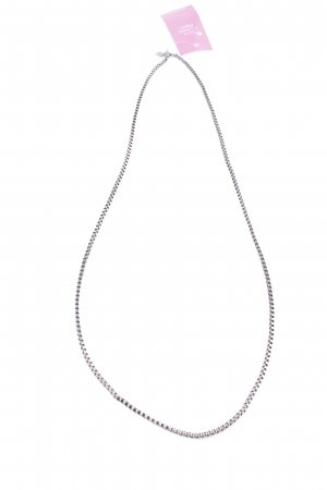 Silberkette anthrazit Casual-Look