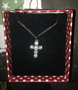 Silberkette Christ Kreuz klassisch