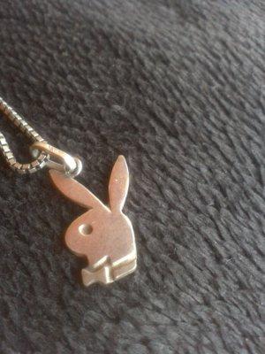 Silberkette mit Playboyhasi