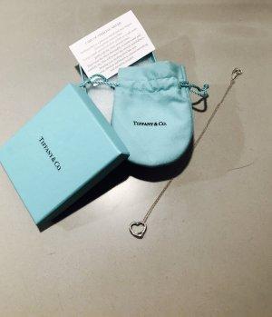 """Silberkette """"Open Heart Anhänger"""" von Tiffany & Co."""