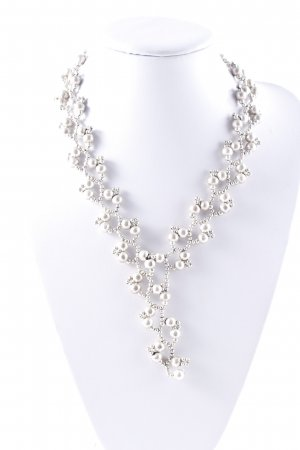 Silberkette silberfarben Antik-Look