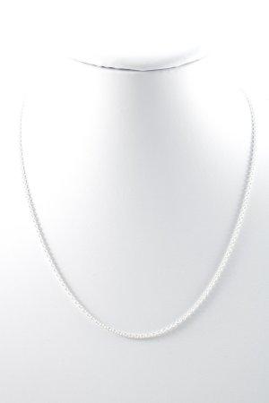 Silberkette silberfarben Elegant