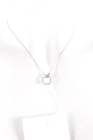Silberkette silberfarben klassischer Stil