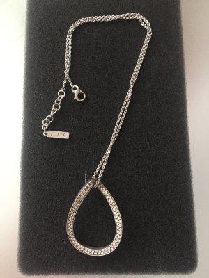 Silberkette von Jette Joop mit kleinen Diamanten besetzt