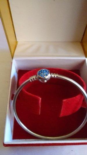 no name Bracelet silver-colored-blue
