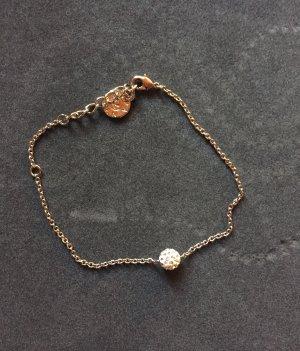 Silberne Armkette Swarovski