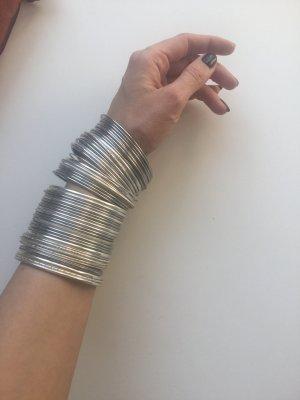 Silberne Armreifen 50 Stück