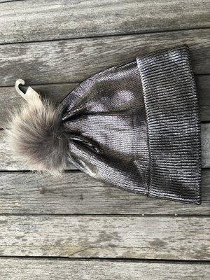 Bijou Brigitte Knitted Hat silver-colored-light grey
