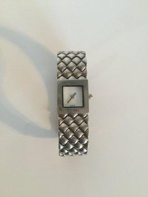 Silberne Chanel Armbanduhr