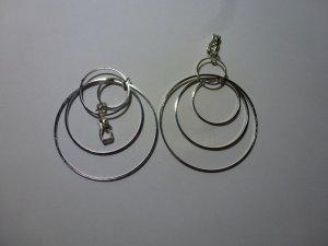 Oorclips zilver Zilver