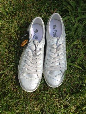 Silberne Dockers Sneaker Größe 38