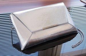 Silberne Envelope-Clutch von Buffalo