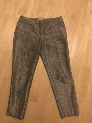 Silberne H&M Bundfaltenhose
