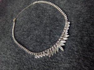Silberne Halskette