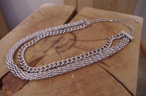 silberne Halskette von H&M