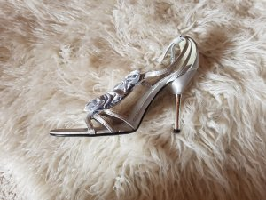 Jumelles Strapped pumps silver-colored