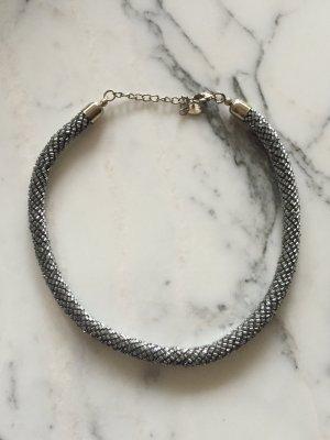 Silberne Kette aus kleinen Perlen NEU von Accessorize