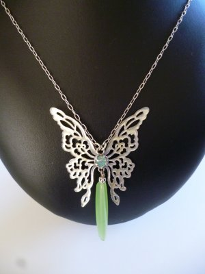 Pilgrim Necklace light blue-turquoise metal
