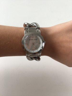 Michael Kors Orologio con cinturino di metallo bianco-argento