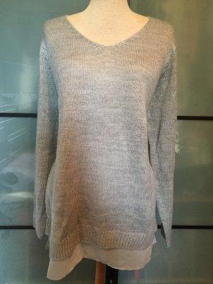 Silberne Pullover gr. L
