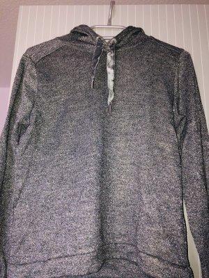 H&M Jersey con capucha color plata