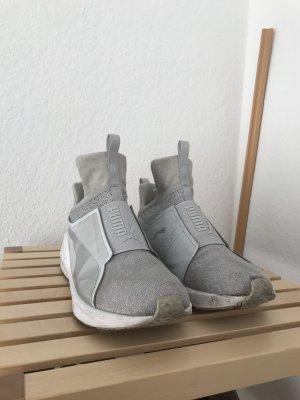 Puma Slip-on Sneakers silver-colored-white