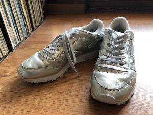 Reebok Chaussures argenté cuir