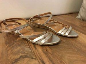 silberne Riemchen-Sandalen von H&M