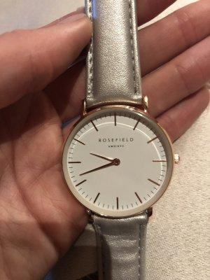 ROSEFIELD Analoog horloge zilver-zwart
