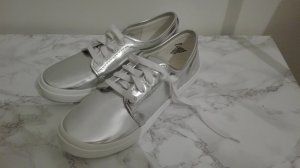 H&M Skater Shoes silver-colored-white