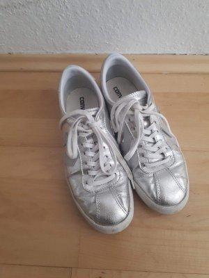 Silberne Sneaker (Converse)