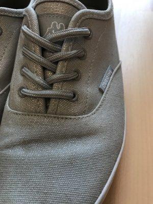 Silberne Sneaker von Kappa