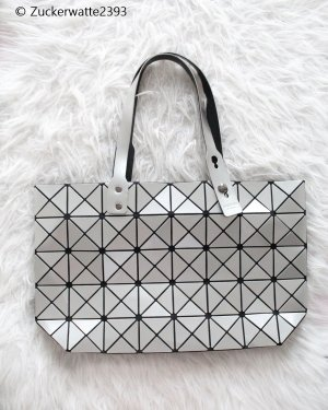 Carry Bag grey-silver-colored