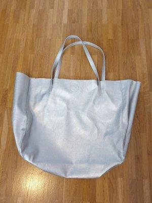 H&M Shopper silver-colored