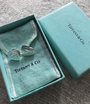 Silberne Tiffany & co Ohrringe