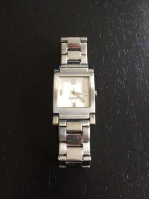 Silberne Uhr von Esprit