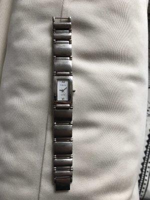 Fabiani Montre avec bracelet métallique argenté