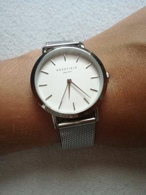 silberne Uhr von Rosefield