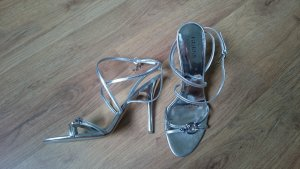 Guess by Marciano High Heel Sandal silver-colored leather