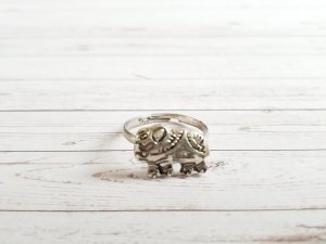 silberner BOHO Ring. NEU, ungetragen
