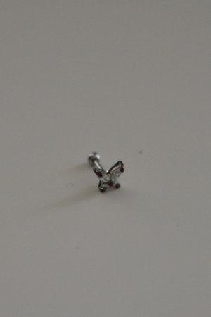 Zarcillo color plata metal