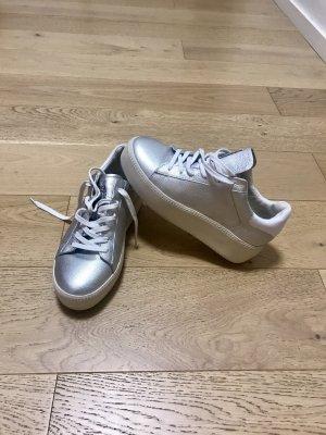 ASH Sneaker stringata argento